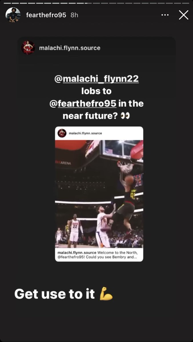 Bembry out here responding to Malachi Flynn fan accs with 13 followers this is my kind of guy https://t.co/qkQ38GBB6O