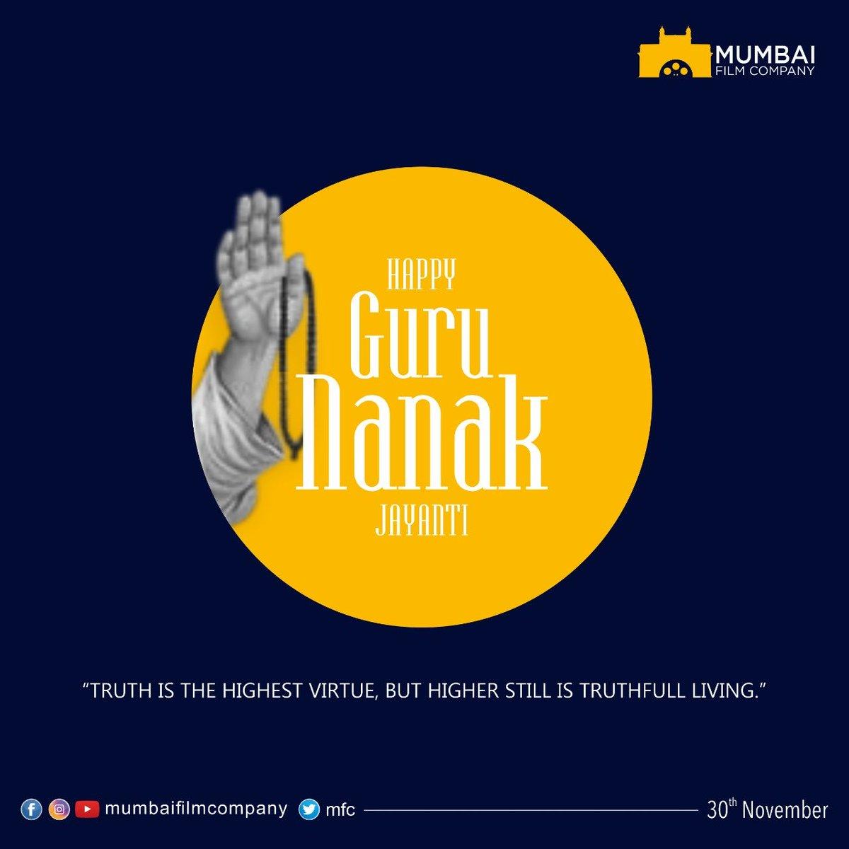 Greetings to all on this auspicious day. #gurupurab #GuruNanakJayanti2020