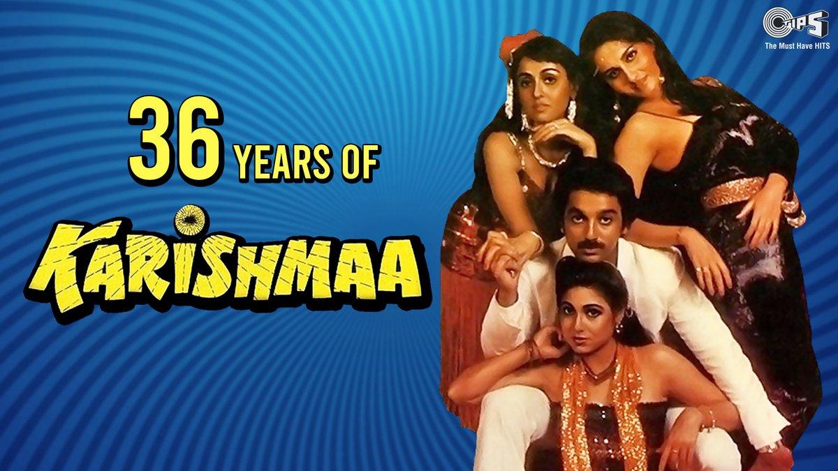 #Karishmaa, a crime-thriller film starring @ikamalhaasan, #DannyDenzongpa, #ReenaRoy & #TinaMunim completes 36 years of its release TODAY!  #36YearsOfKarishmaa #KamalHaasan