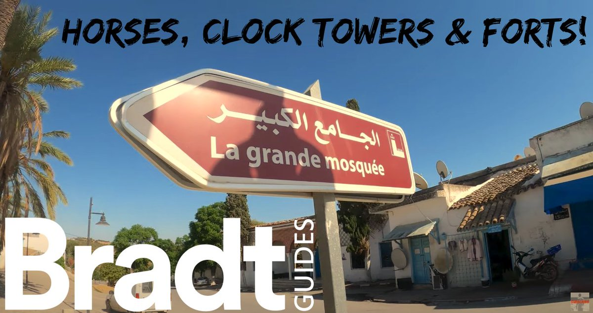 New video! Horses, clock towers & a Byzantine fortress! Explore Béja town, Testour & Aïn Tounga (Tunisia travel VLOG تونس) 🇹🇳 🐴🕑🏰 🇹🇳    #Tunisia #Tunisie #Byzantine #archaeology #Béja #Testour #AïnTounga #NorthAfrica #MondayMotivation  #MondayMorning