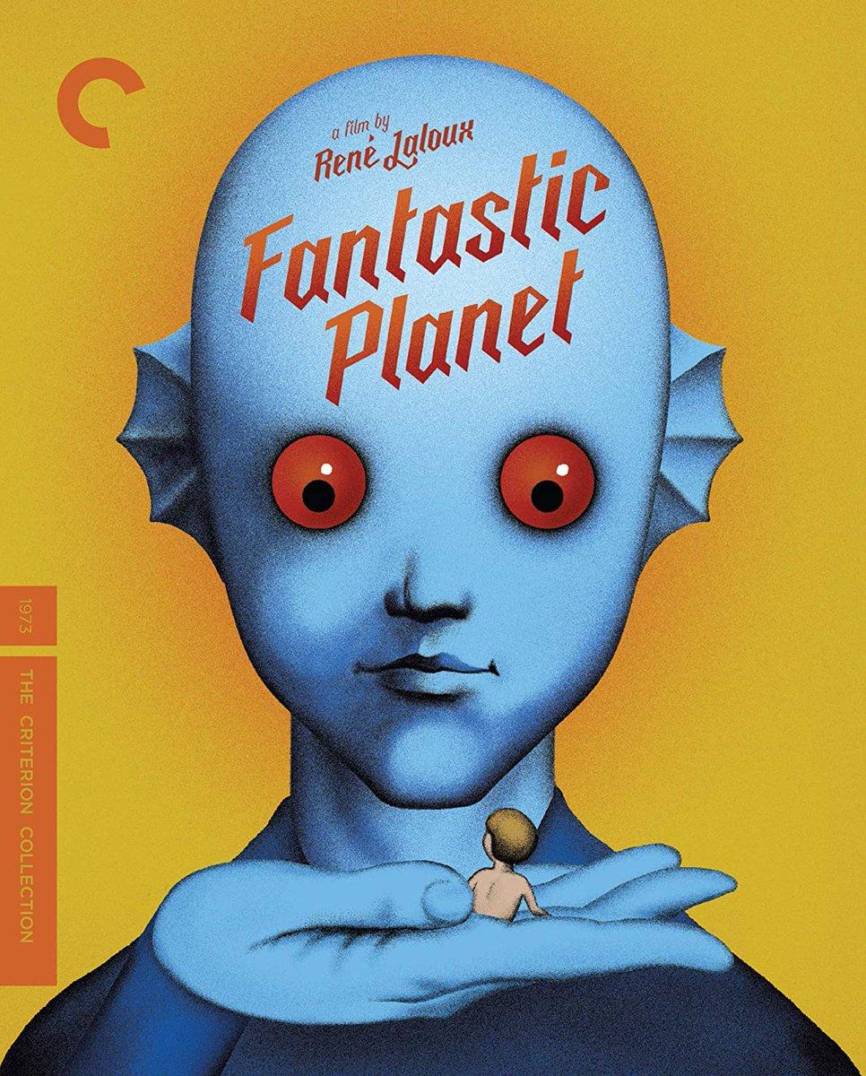 ルネ・ラルーの『ファンタスティック・プラネット (1973)』がなんと渋谷HUMAXシネマで一週間限定上映(12/4〜12/10)されるらしいですよ……