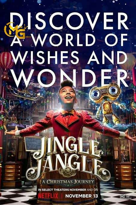 Movie Of The Day: Jingle Jangle-A Christmas Journey   Decades after his apprentice betrays him, a once joyful toy maker finds new hope when his bright young granddaughter appears on his doorstep.    #jinglejangle #JingleJangleNetflix #christmas #movie