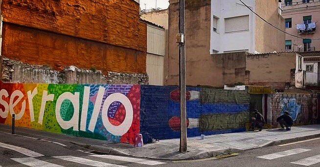 Replying to @albertLOrayo: Al Serrallo !!! 😍 MAR-MUR... #streetart #streetstyle #grafitti #muralart #wallart  #igers #igerstgn  #igerscatalunya #ig_universal #instagood #tweetgram #iphonesia #beautiful #instalike #amazing #instamood #bestoftheday #photoofthed…