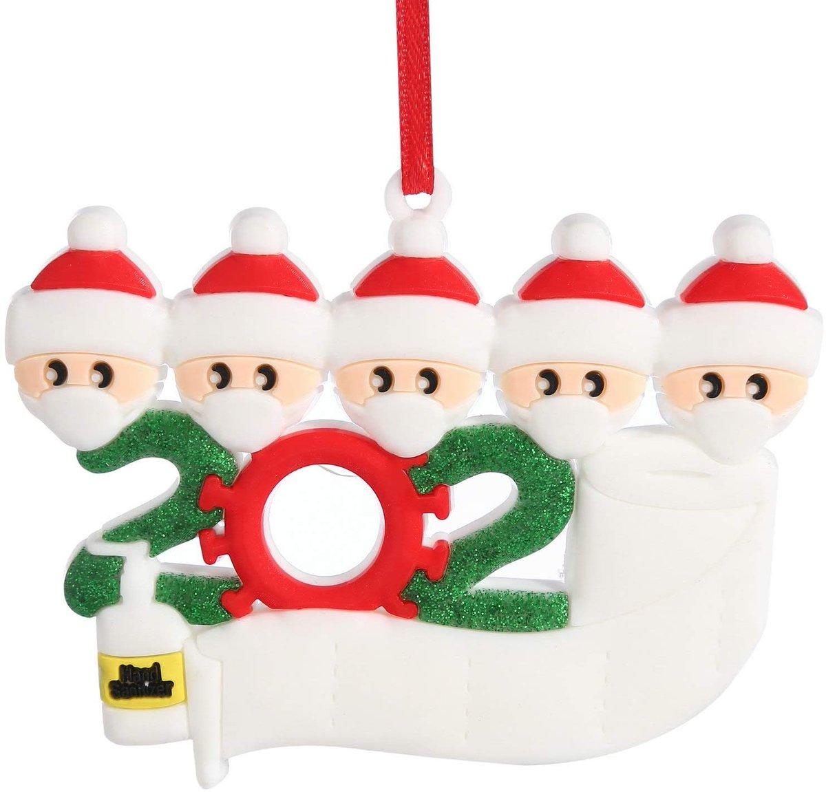 Quarantine Family 2020 Christmas Ornament Kit  Only $5.99!!  2