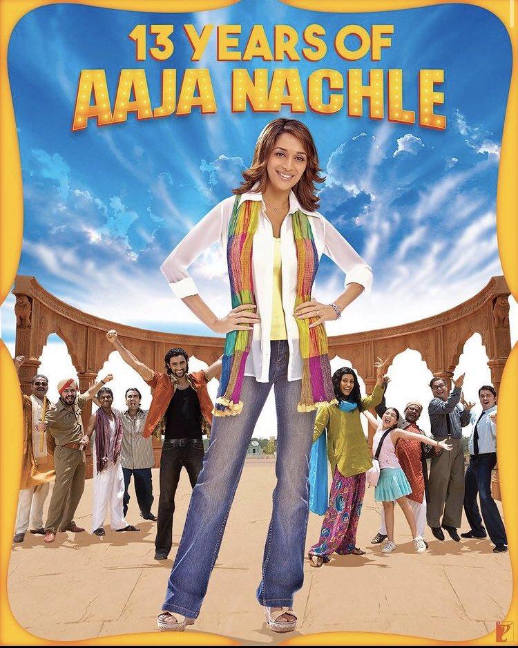 Dance lovers would get this! An underrated comeback of gracious @MadhuriDixit ♥️  #13YearsOfAajaNachle @RanvirShorey @kapoorkkunal @konkonas @pathakvinay @yrf #AkshayeKhanna