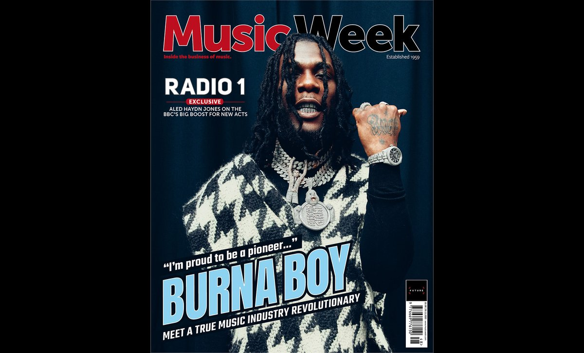 . @burnaboy stars on the cover of our brand new issue, as we meet the superstar and his team. Plus: @BBCR1, @MOBOAwards, @KanyaKing, @FascinationMgmt, @Tonuspomus, @SGLewis_ + much more. Out now:  #Burnaboy