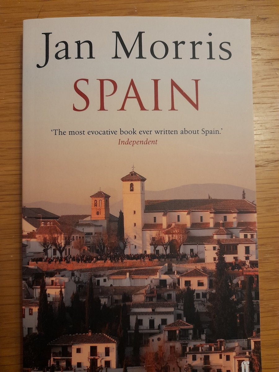 Book on a small kitchen table in Malpas  Jan Morris - Spain https://t.co/8WJHiZYEEe