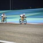 Full speed into a new race week 🏁  #VB77 #F1 #Cycling #BahrainGP @MercedesAMGF1 #nplusbikes  📷 @F1Sutton