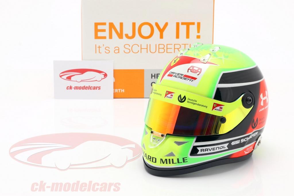 Guten Morgen Twitter! Mick #Schumacher @PREMA_Team @SchumacherMick #Helm #helmet #miniatures scale 1:2 #Formel2 #formula2 #F2 2020 #PremaRacing by Schuberth @SchuberthHelmet check out https://t.co/289faNnxi5 👍👍👍👍👍 https://t.co/FaH0XkUKeK
