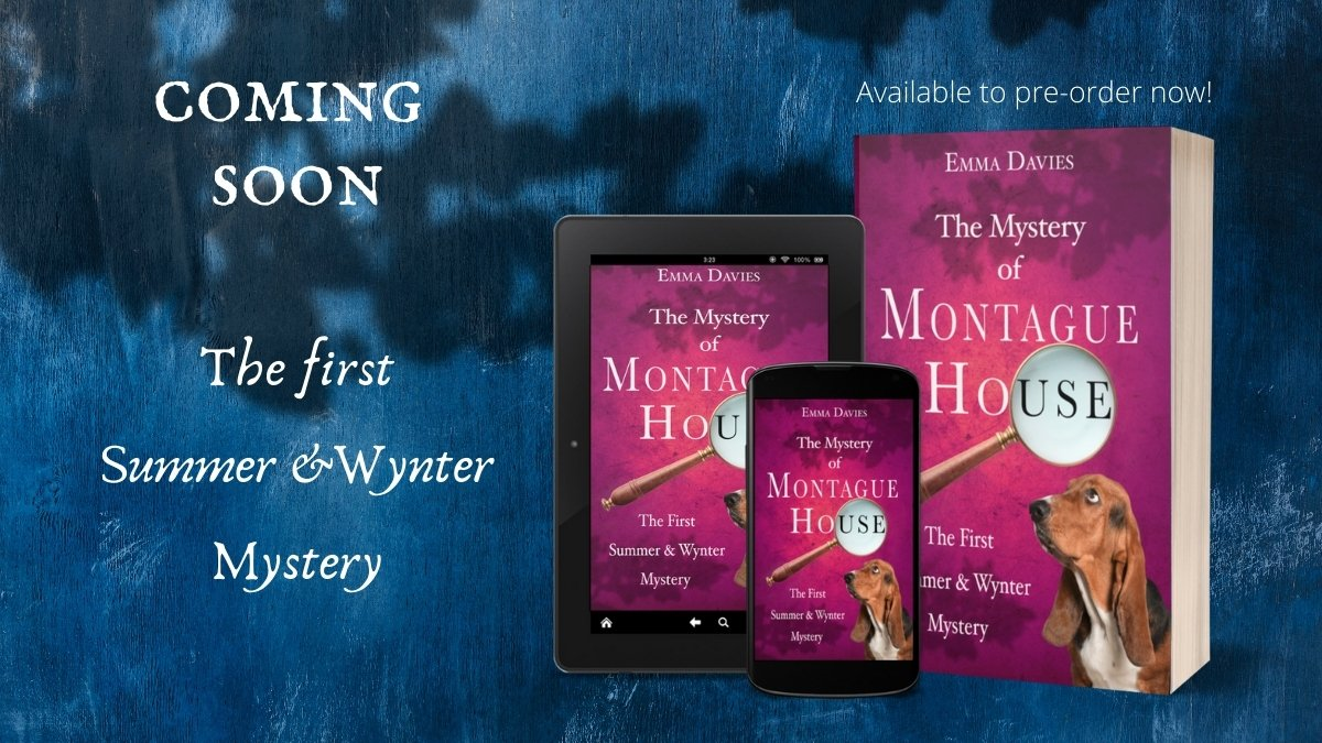 """I saw something out of the corner of my eye as I was leaving, and you know what that means. It's never good news when I see something out of the corner of my eye..."" Pre-order your copy today!  #cozymystery #MurderMystery #suspense"