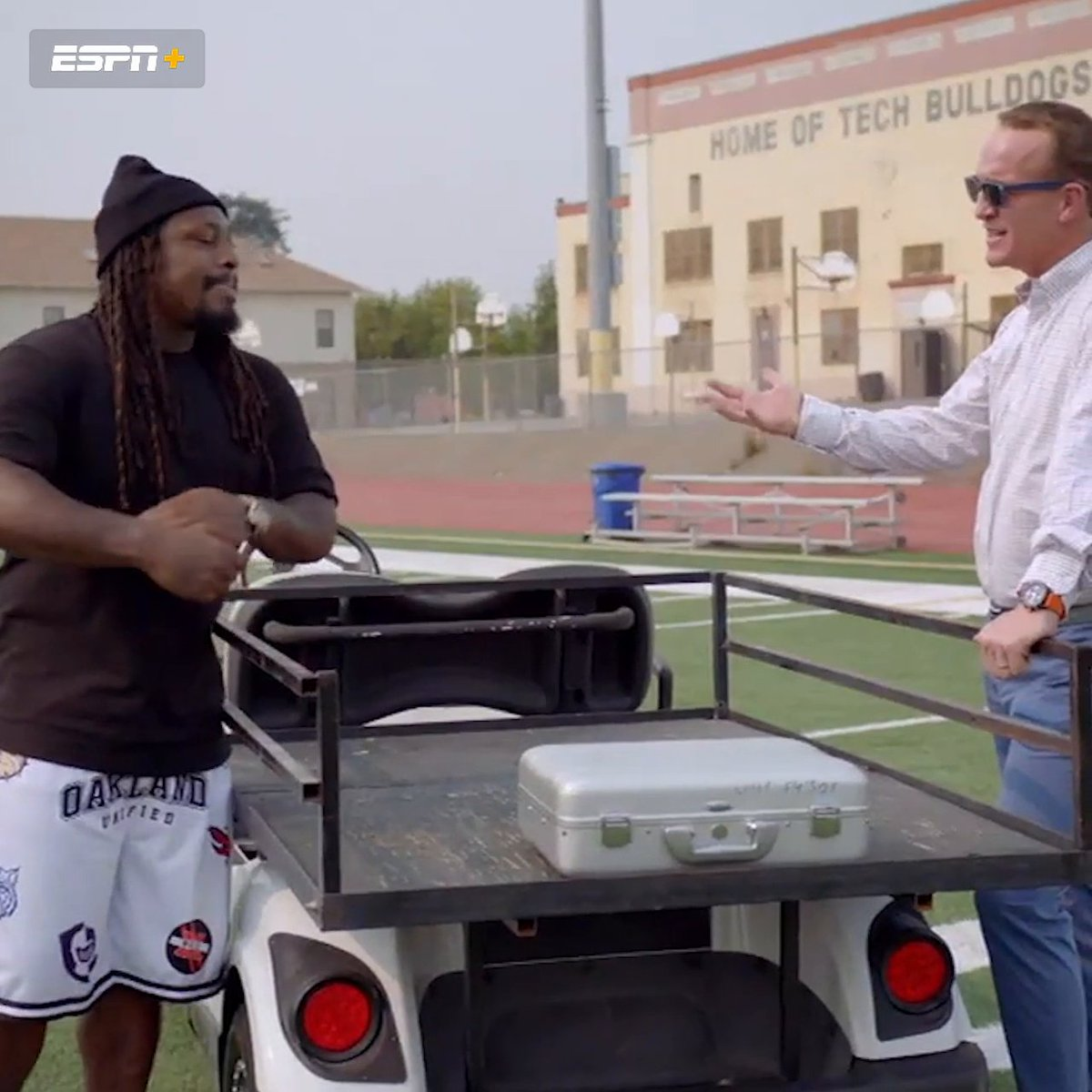 Marshawn said he would get an invoice for all his fines 😂  Stream Season 2 of Peyton's Places: https://t.co/wQPARMQ1ak https://t.co/6ht0czuWmx