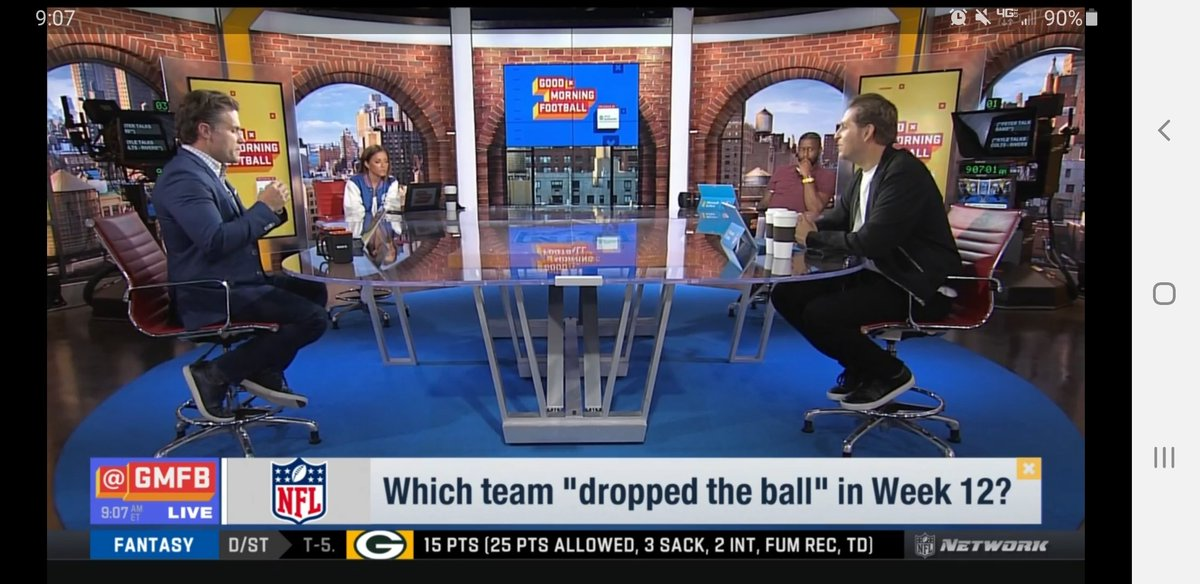 Great to see the crew styling and profilin this morning @heykayadams @nateburleson @KyleBrandt @PSchrags #GMFB