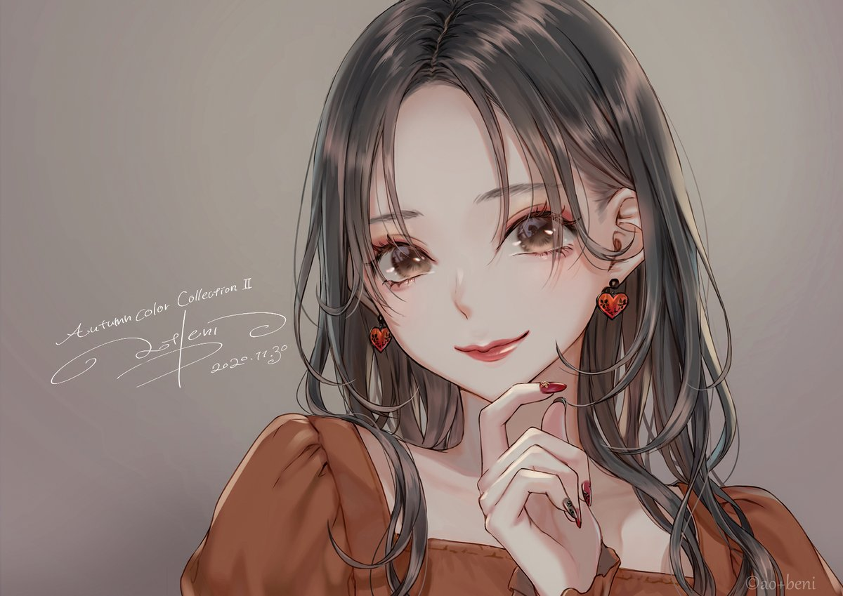 秋色メイク.2