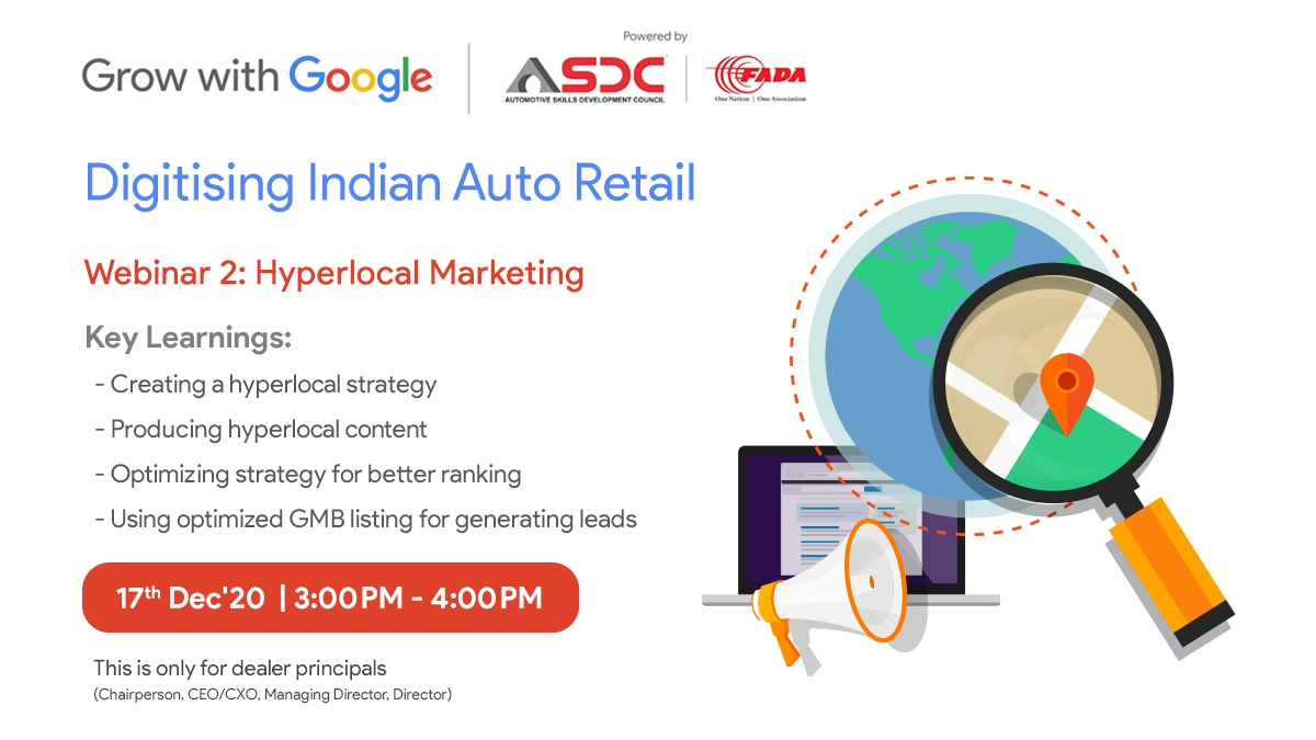 Investing in an effective #hyperlocal strategy can lead to building stronger brand engagement, generate more sales leads, and increase in-store visitors. Learn how to build your brand affinity from Google experts. Register now:  #GrowWithGoogle
