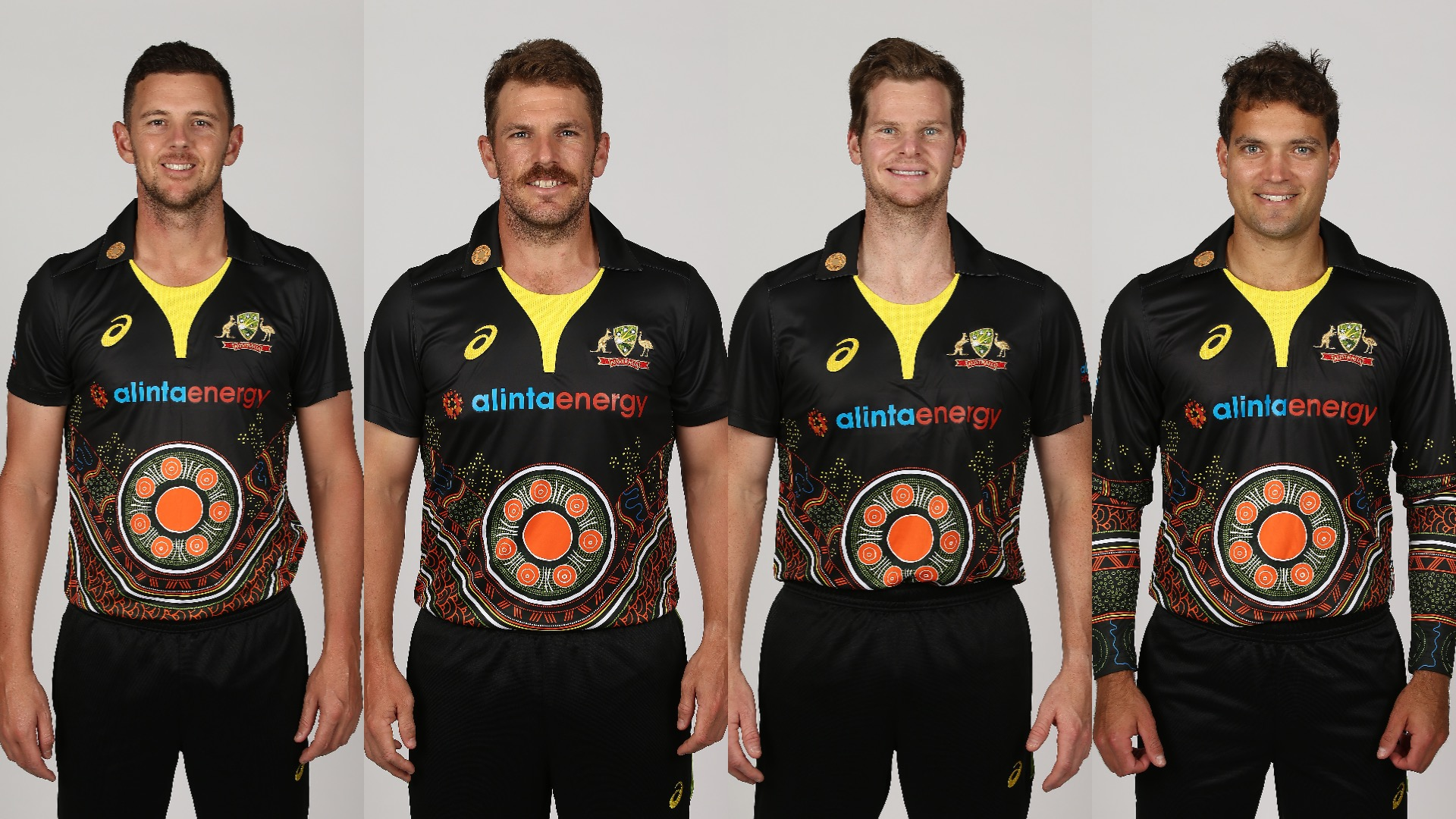 Australia will hon the newly designed jersey for the T20I series
