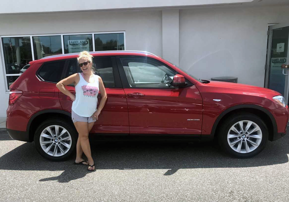 Ashley Lewis came to #LakelandAutomall to pick up her new #BMW #X3 and we must say... you look pretty #Happy! #ThankYou Ashley for your purchase and choosing us - We know everyone has choices and thank you again for choosing us! If we can do anything... don't hesitate to ask! https://t.co/fxaykL5JMu