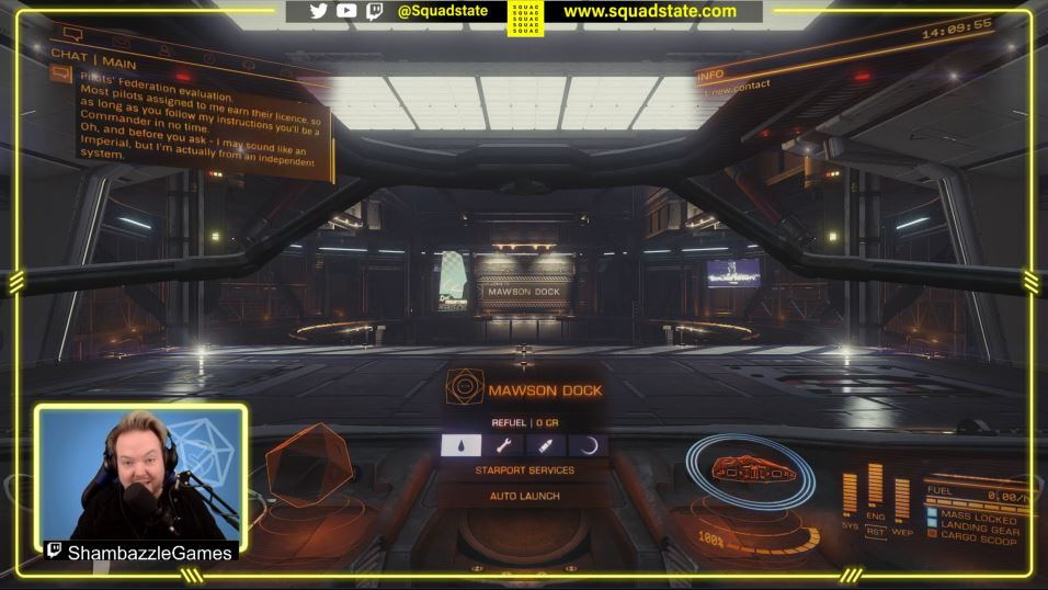 SQUAD Up Commanders! We're back playing #EliteDangerous with viewers. Beginner game play, tips from chat, mining and working towards a new ship! Join us on #Twitch LIVE NOW at https://t.co/SIc7KoztPI  #videogames #gaming #gamingcommunity #streaming #stream #GamingNews #streamer https://t.co/CmxFaWD1TF