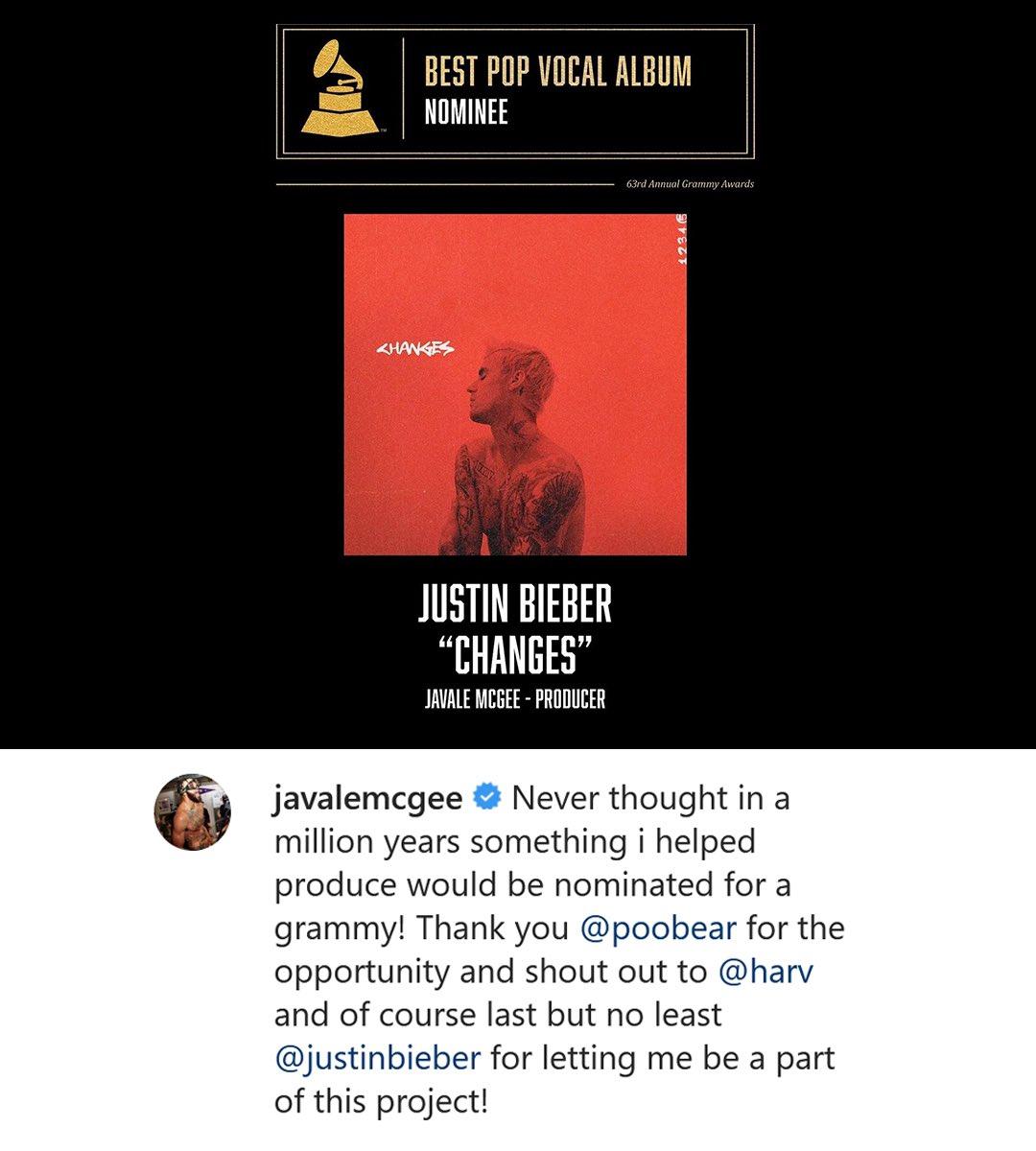 "Add ""Grammy Award-nominated producer"" to @JaValeMcGee's resume. 🤩 https://t.co/792xOZApV6"
