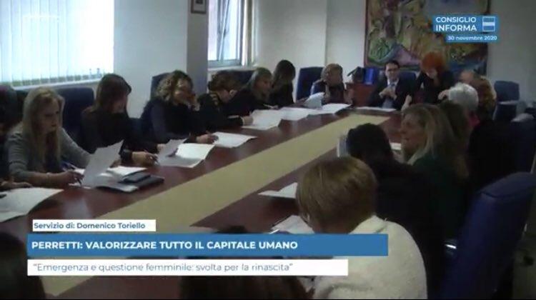 PERRETTI: VALORIZZARE CAPITALE UMANO IN TUTTE LE S...