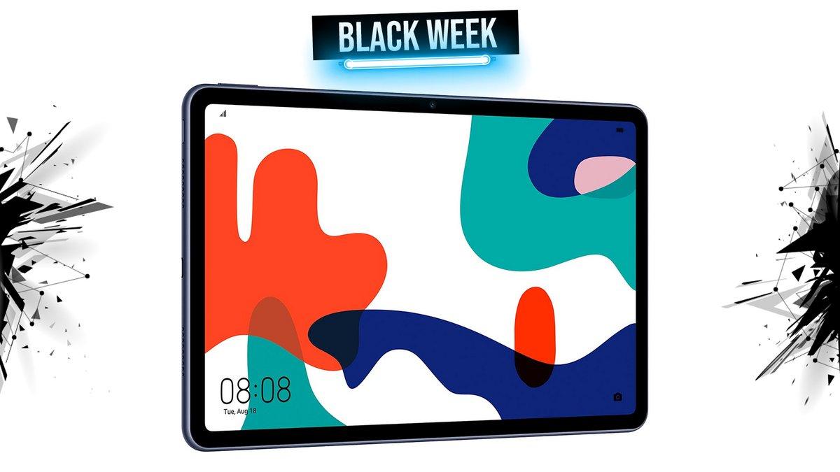 La Fnac offre 25% de réduction immédiate sur la tablette Huawai MatePad 🔥 #BlackFriday #BlackFriday2020  https://t.co/7DVpfm8RbG https://t.co/pRkjBWx51Q