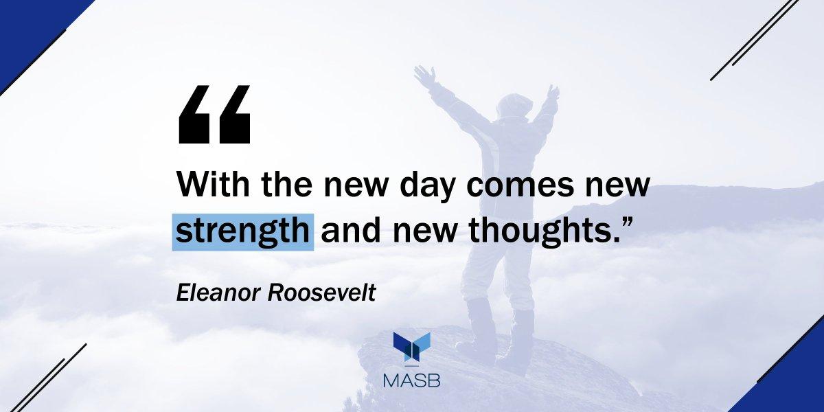 Good morning! Have a great week! ❄️  #MASB #PublicSchools #MondayMotivation #MondayMorning