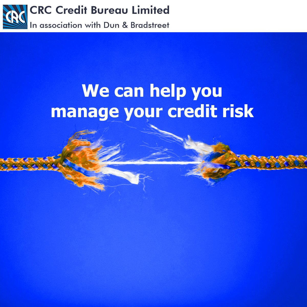 Manage your credit risk with our various products and services like the CRC Portfolio Monitoring Review or market your products and services with CRC Prospecta? Send us an email today at salesandmarketing@crccreditbureau.com  #MondayMotivation