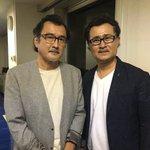左が俳優の吉田鋼太郎さんで、右が声優の大塚明夫さん?