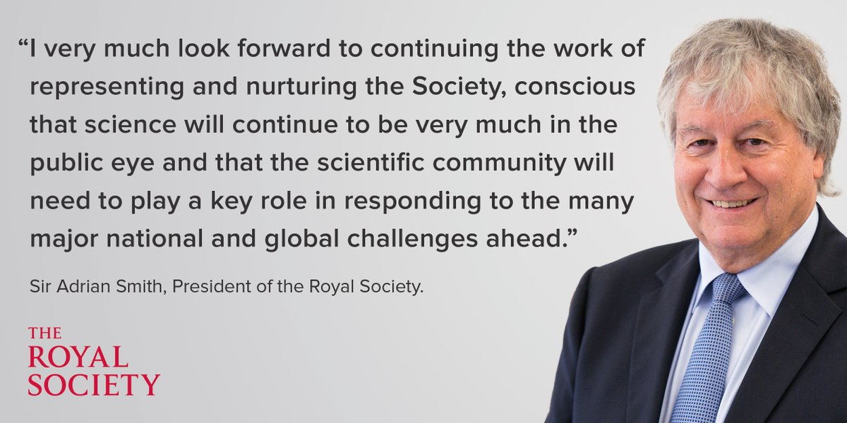 test Twitter Media - Very excited by this!  RT @royalsociety: Today we send a warm welcome to Sir Adrian Smith as he begins his role as the President of the Royal Society. Adrian Smith is a distinguished statistician and Director and Chief Executive of @turinginst https://t.co/efhaRuxWZX
