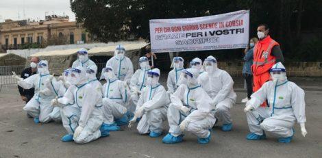 """Lotta al Covid19, negli ospedali palermitani i messaggi di conforto e speranza dei ragazzi """"senza nome"""" (FOTO) - https://t.co/ybeUnJnQg1 #blogsicilianotizie"""