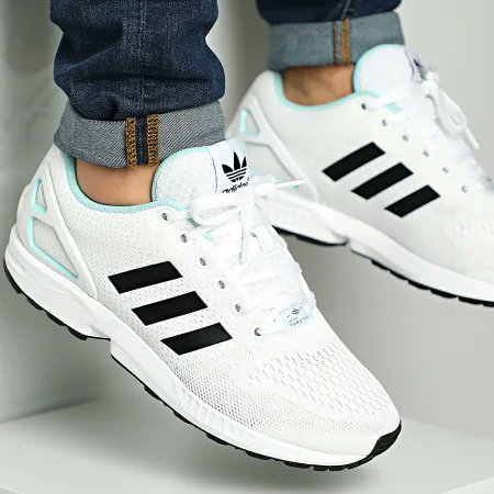 Ad: ZX Flux in white for £28.09 Use code STILLGOTIT here >> tidd.ly/3lmtpSw RRP £74.95
