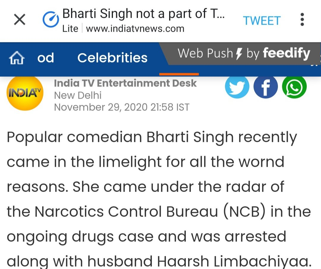 Wrong* @indiatvnews Are you looking for editing interns or any interns?  #TheKapilSharmaShow