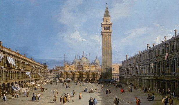 """I'm LOVING Jan Morris' """"Trieste."""" Archduke Maximilian was fired as viceroy of Venice and sent to Trieste - he was on the verge of turning St Mark's Square into an orange orchard and making the campanile into a lighthouse! Thank goodness the Venetians rose up against this idea! https://t.co/igwMdbjsmn"""