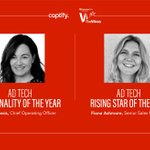 As if one Fiona being nominated wasn't enough, we've got two!  Shout out to @Captify's Fiona Davis and Fiona Ashmore who have both been shortlisted for @exchangewire's #TheWires awards 2020 🥳. They've got our vote, who's got yours? https://t.co/GWdkxzuvPa #awards #adtech