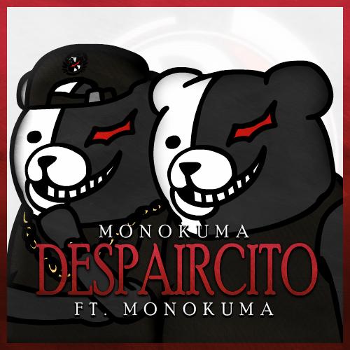 Monokuma´s new song! 🎶  Now on Apple Music for 66 Monocoins!  ( Credit goes to u/f-n-a-f-g-y-f-r on the Danganronpa subreddit )  #danganronpa #monokuma #animememes #despacito