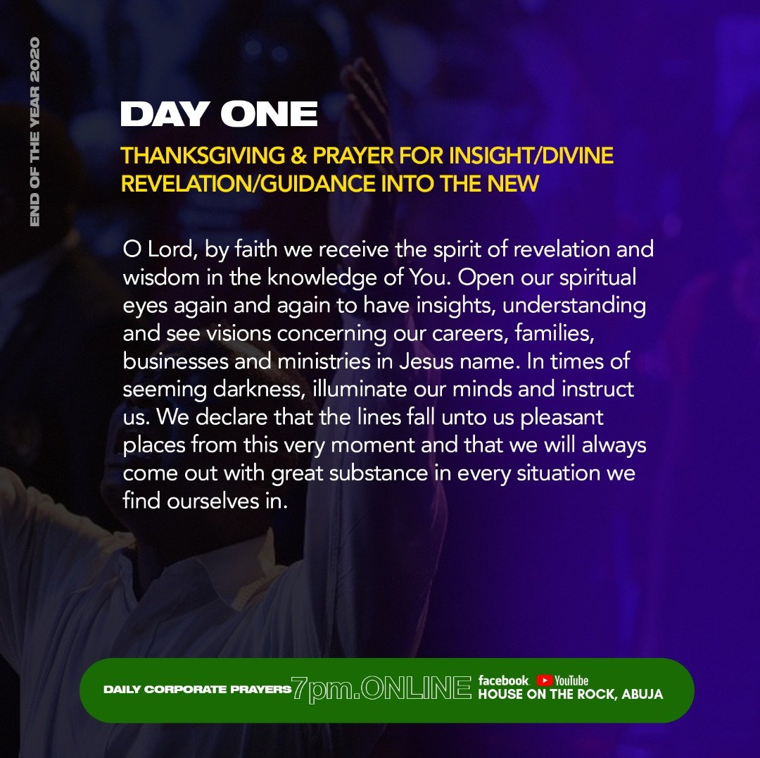 Day 1 - #EndOFYearPUSH Prayers  PSALMS 32:8 [KJV]. I will instruct thee and teach thee in the way which thou shalt go: I will guide thee with mine eye. _ Prayer bulletin link: https://t.co/Lk6f6ZM0p0  #Prayer #Fast #EndOfYearPUSH2020  #HOTRRefuge https://t.co/QdwHvHkQQA