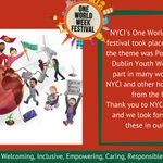 Image for the Tweet beginning: @nycinews One World Week online