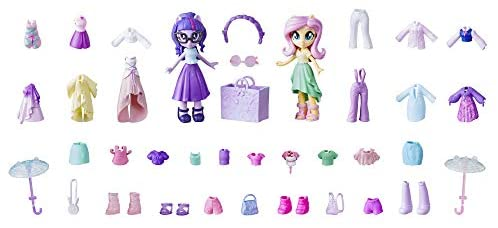 Price: $26.99(as  #Accessories #Doll #Dolls #Equestria #Fashion #fashiondressforgirls #Fashions #Fluttershy #Girls #Lots #Mini #Pony #Set #Sparkle #Squad #Twilight
