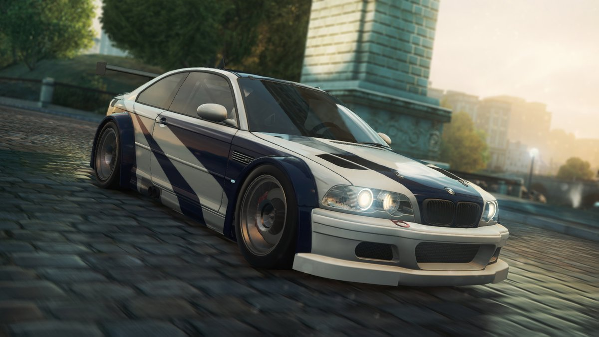 The BMW M3 GTR was the best car in NFS: Most Wanted 🔥