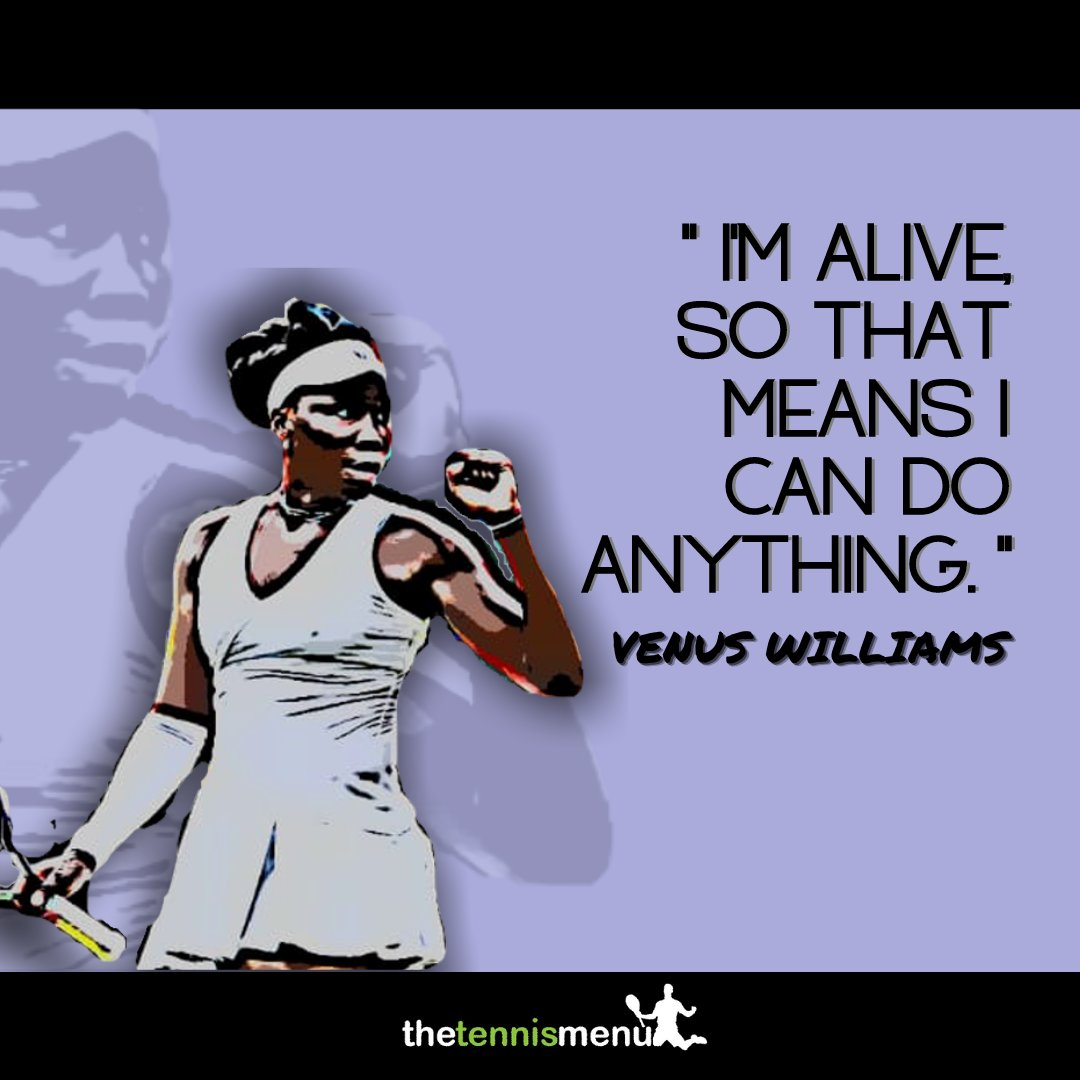 Anything is possible if you just put you believe and set your mind to it... @venuseswilliams   👉 Over 600 drills to develop your game, your way 👈 Only at https://t.co/G2rj6mLZEG  #selfdevelopment #improvement #thetennismenu #developmentyourway https://t.co/8v6sUBahAl