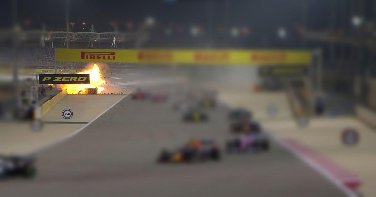 Ecco cosa è successo a Romain Grosjean nel gp del Bahrain.  https://t.co/MhDFH38vqk  #f1 #formula1 #racing #motorsport #formulaone #romaingrosjean #race #bahraingranprix #cars #car #grosjean #grandprix #speed #legend #gp #bahraingp #formulauno #fia https://t.co/BVwArwH61B