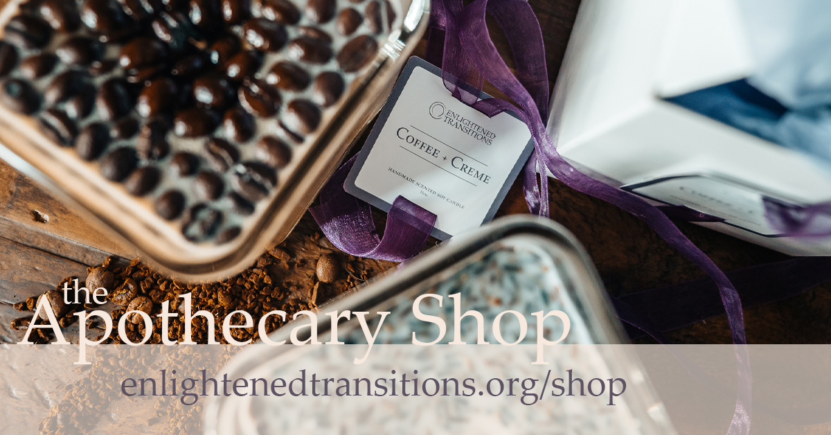 Shop our All-Natural Handmade Scented Soy Candles. The Apothecary Shop at Enlightened Transitions   Use promocode INDULGE2020 to get 10% off   #CyberMonday #ShopSmall #smallbusiness #holidaygifts #handmade #candleseason #indulge #homedecor #selfcareshop