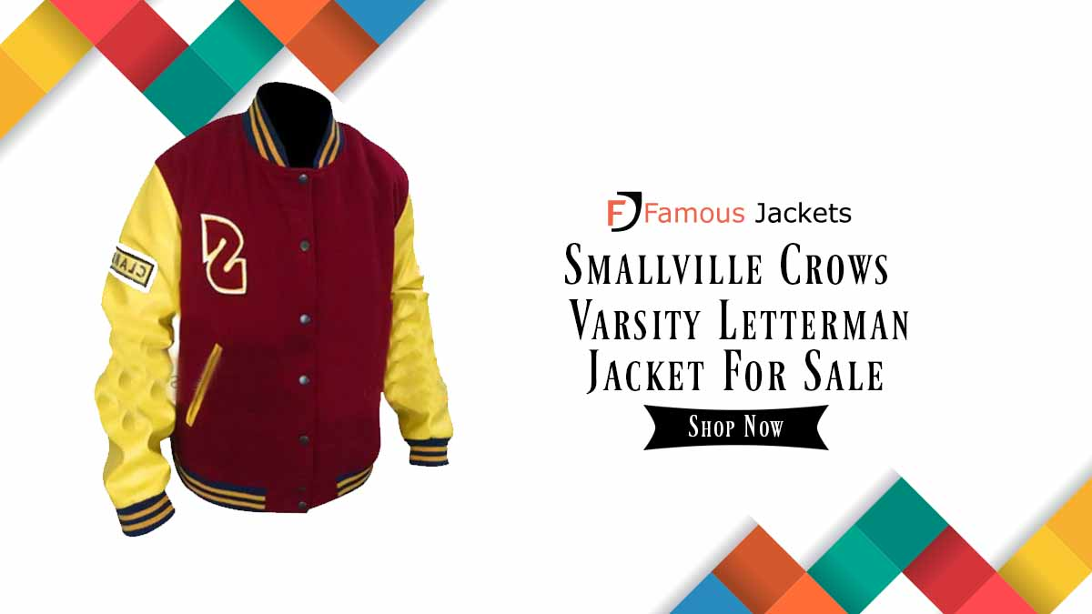 Discount Alert!!! Cyber Monday. Who does want the jacket of the Smallville Crows Varsity Letterman Jacket? So get a chance to avail this Grand Offer. https://t.co/ECgTDLwmsK  #smallville #letterman #varsity #FridayVibes #jacket #fashion2020 https://t.co/Gv6kfDB0mq
