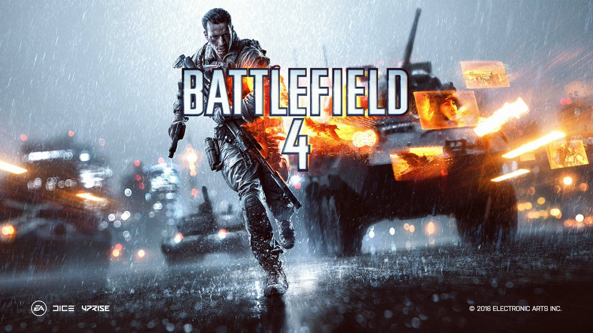 going on bf 4 for a bit