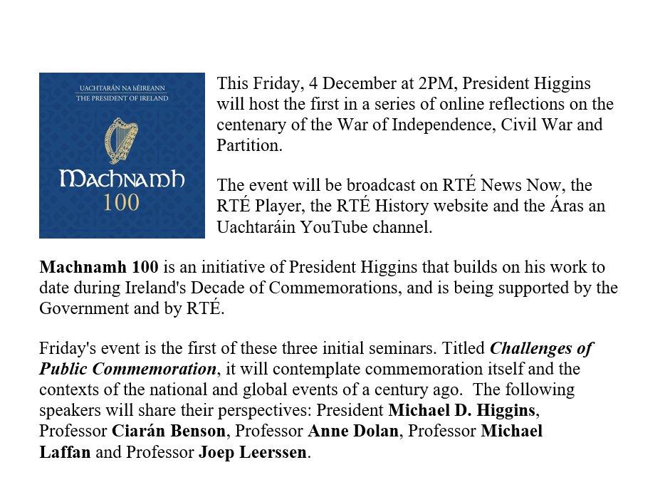 President of Ireland (@PresidentIRL) | Twitter