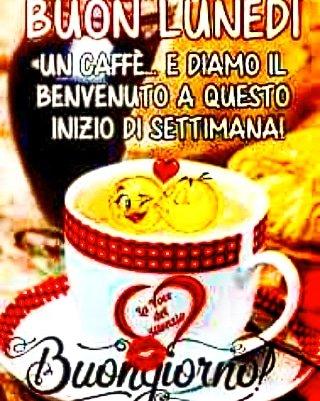#buonlunedì #uncaffè ... E #diamoilbenvenuto a questa #nuovasettimana🍀 #buongiorno #love#ınstagood #me #cute #tbt #postoftheday #instamood #iphonesia #mazingando #lelêxxii