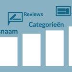 Image for the Tweet beginning: 4 velden in Google My
