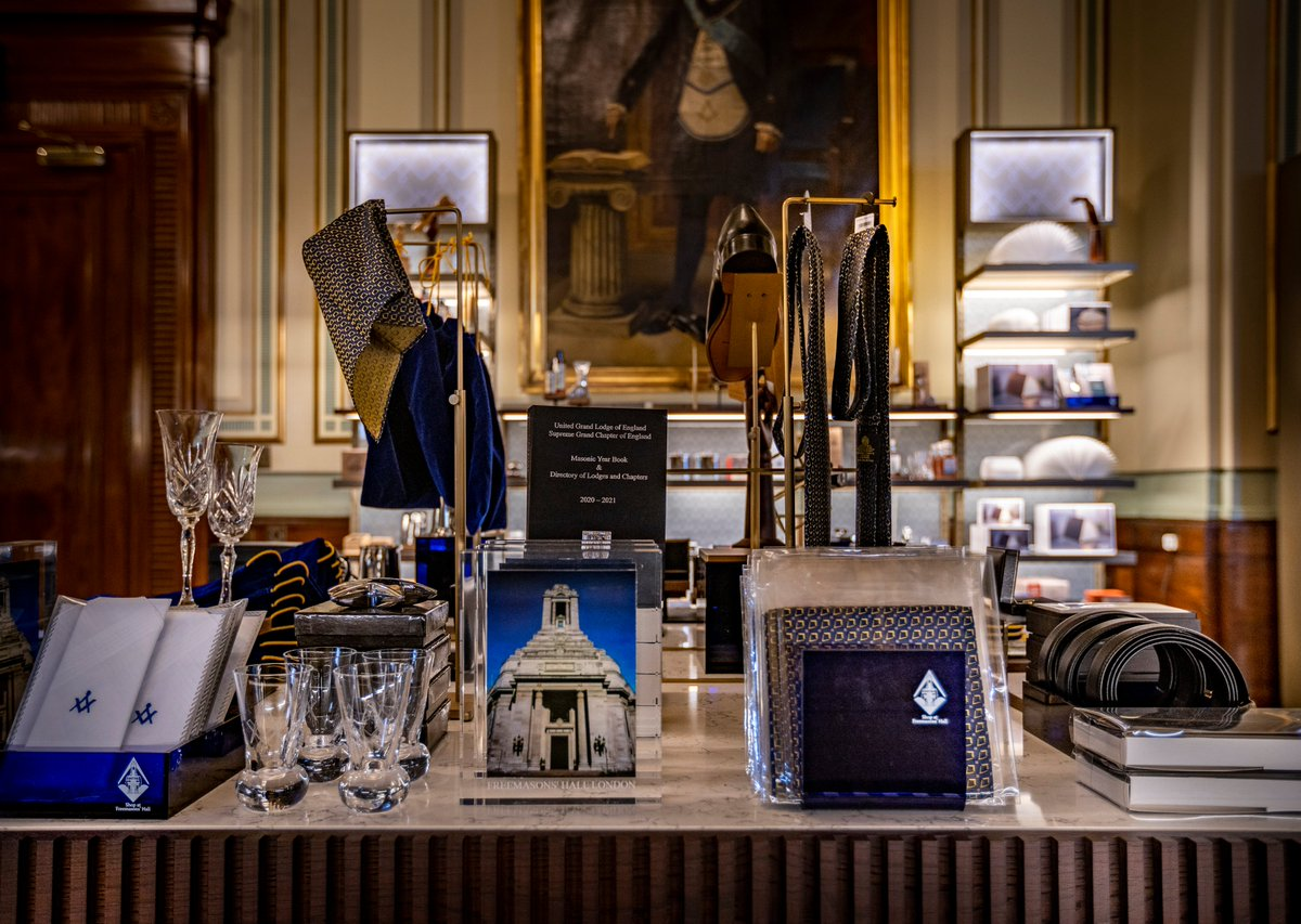In case you missed it when we retweeted it earlier... You can find out more about the shop when @UGLE_DrDStaples joins @mariellaf1 at 3:25 on @TimesRadio https://t.co/n1sd8r2oW4 📻