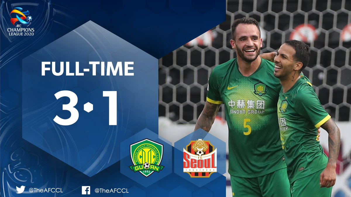 HIGHLIGHTS | Beijing FC 🇨🇳 3-1 FC Seoul 🇰🇷  🎥 Beijing push their best ever ACL winning streak to 5⃣ matches with a 3-1 win over FC Seoul.   📰 #BJGvFCS Match Report:   #ACL2020