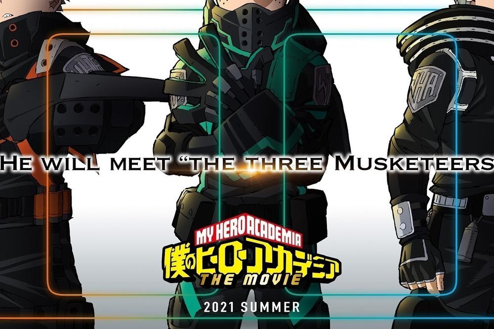 映画『僕のヒーローアカデミア THE MOVIE3(仮題)』アニメ劇場版第3弾、2021年夏公開 -