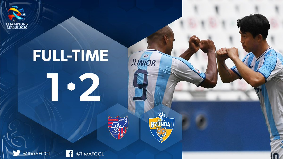 HIGHLIGHTS | 🇯🇵 @fctokyoofficial 1-2 Ulsan Hyundai 🇰🇷  🎥 Ulsan Hyundai came from a goal down against FC Tokyo to book their place in the #ACL knockout rounds as Group F winners.  📰 #TOKvULS Match Report:   #ACL2020